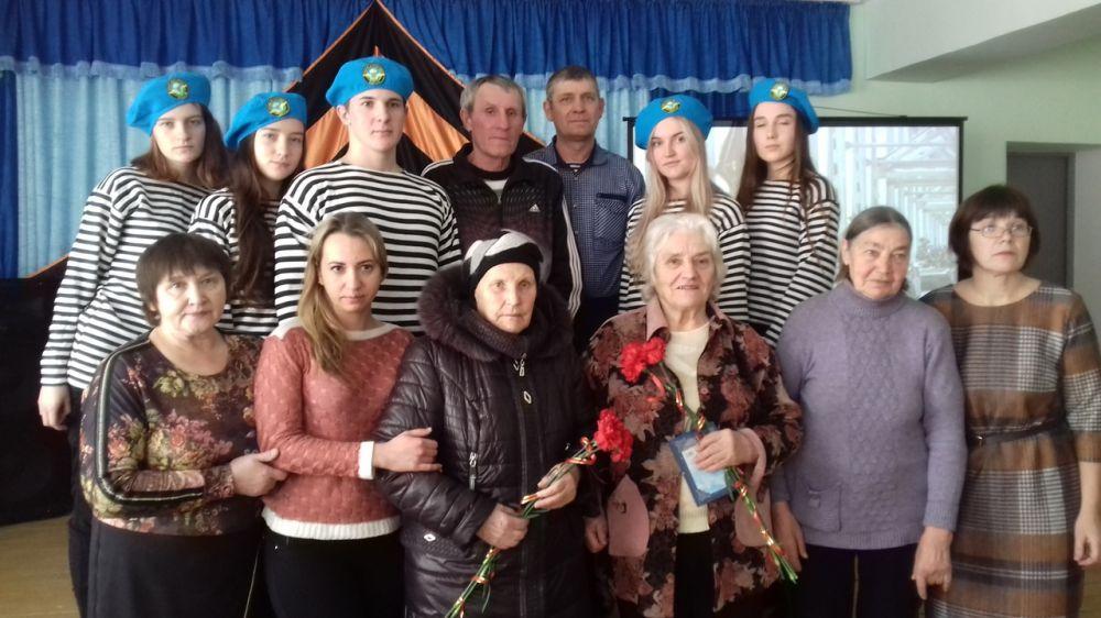 В с.Береговое чествовали воинов-интернационалистов