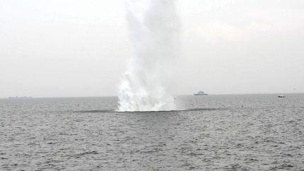 В Крыму ликвидировали фугасную авиационную бомбу времен ВОВ
