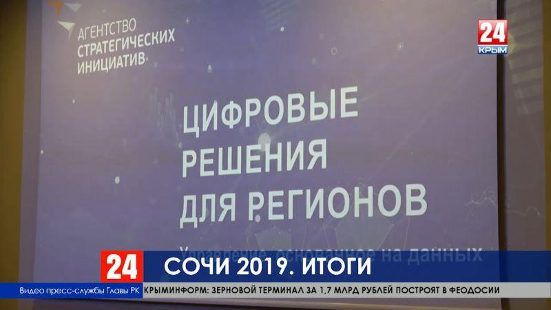 Сочи 2019. Чем запомнился визит крымской делегации на Российский экономический форум?