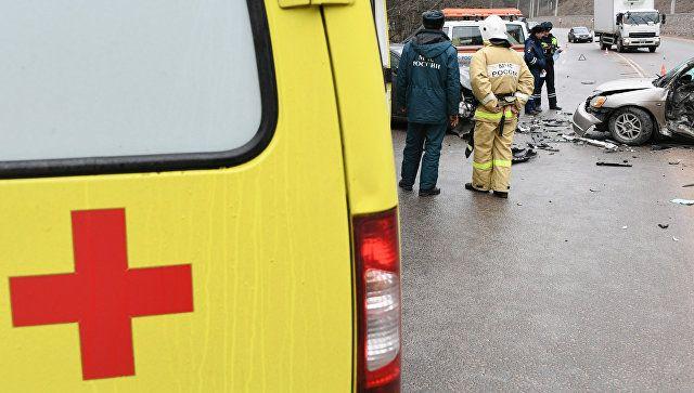 Полиция выясняет обстоятельства ДТП с летальным исходом под Феодосией