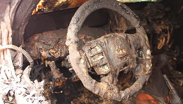 Автопожар в курортном городе Крыма: сгорела иномарка