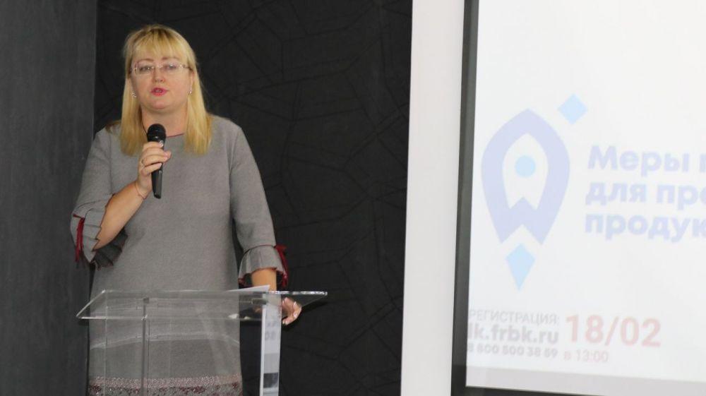 Ирина Кивико: Поддержка предпринимательства – одна из главных задач правительства Крыма и муниципальных органов власти