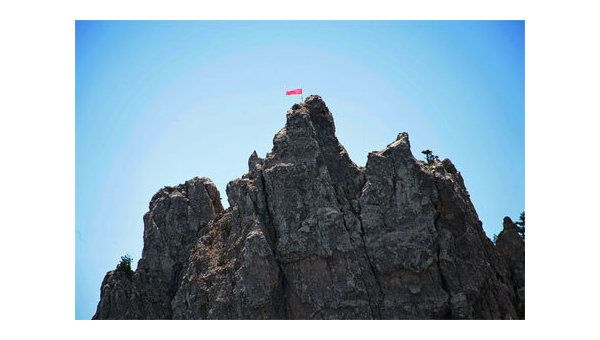 На Ай-Петри 9 мая водрузят Знамя Победы