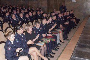 Транспортные полицейские Крыма празднуют 100-летие со Дня образования органов внутренних дел на транспорте