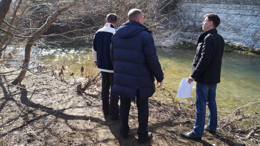 Сергей Шахов: В результате осмотра русел рек выявлены участки, представляющие угрозу возникновения подтоплений