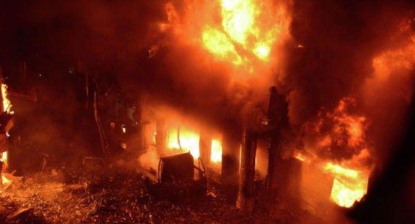 Один человек погиб на пожаре в жилом доме на Проспекте Победы