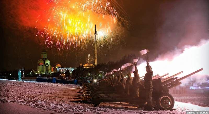 23 февраля артиллерийские салюты пройдут в крымских городах-героях