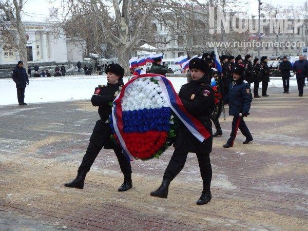 Севастополь торжественно отмечает День защитника Отечества и юбилей Русской весны