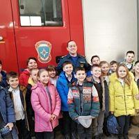Юные крымчане в гостях у спасателей