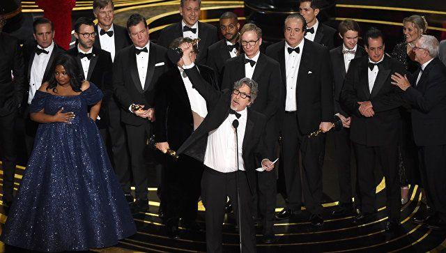 """Картина """"Зеленая книга"""" получила """"Оскар"""" в номинации """"Лучший фильм года"""""""