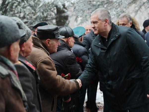 В Симферополе отпраздновали День Защитника Отечества