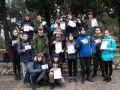В Ялте на спортивных площадках детского лагеря «Смена» состоялся военно-прикладной турнир, посвященный Дню защитника Отечества