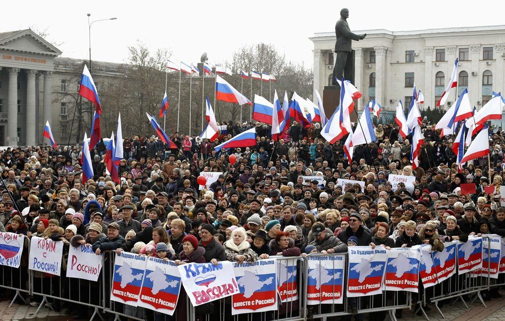 Россияне поделились своими воспоминаниями о марте 2014-го