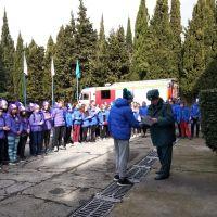 """Ученики """"Школы безопасности"""" приняли участие в итоговых соревнованиях"""
