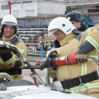 В Крыму проведены соревнования по ликвидации последствий дорожно-транспортных происшествий