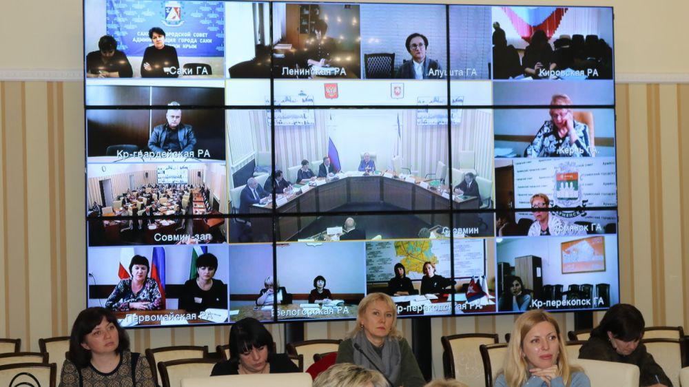 Состоялось расширенное заседание Коллегии Министерства финансов Республики Крым