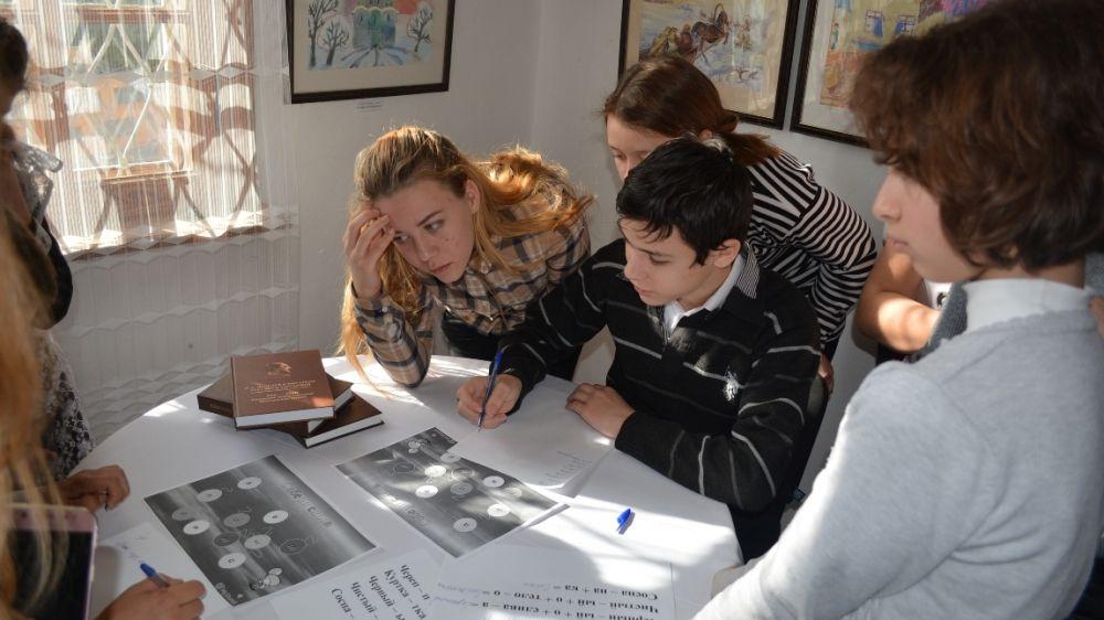 В Музее писателя И.С. Шмелева проведен цикл тематических уроков, посвященных Международному дню родного языка