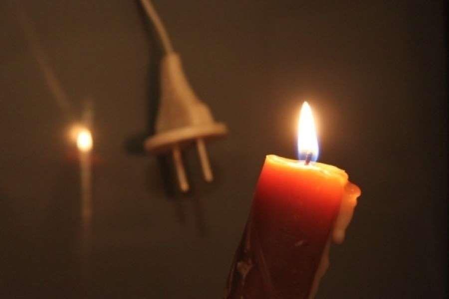 Из-за сильного ветра несколько районов Крыма остались без света