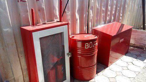 Сотрудники МЧС Крыма уделяют особое внимание пожарной безопасности розничных рынков полуострова