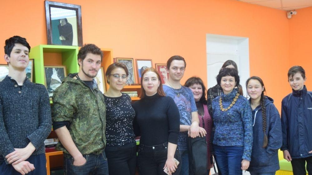 В Республиканской библиотеке для молодежи прошла встреча с крымскими писателями