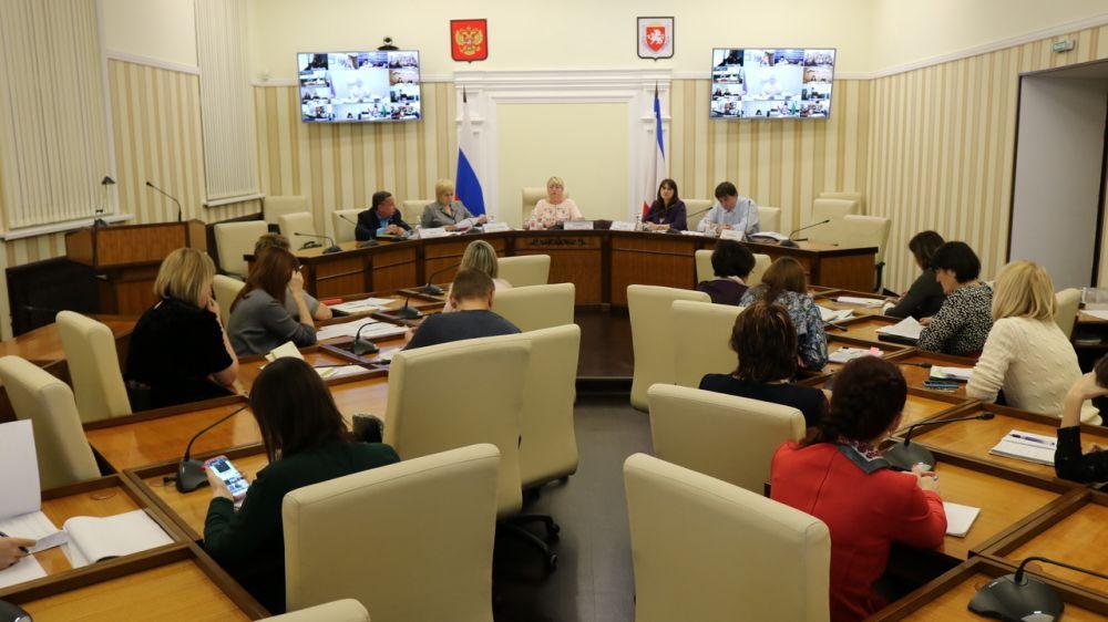 Минфин Крыма провел оперативное совещание с представителями главных распорядителей бюджетных средств и муниципалитетов республики
