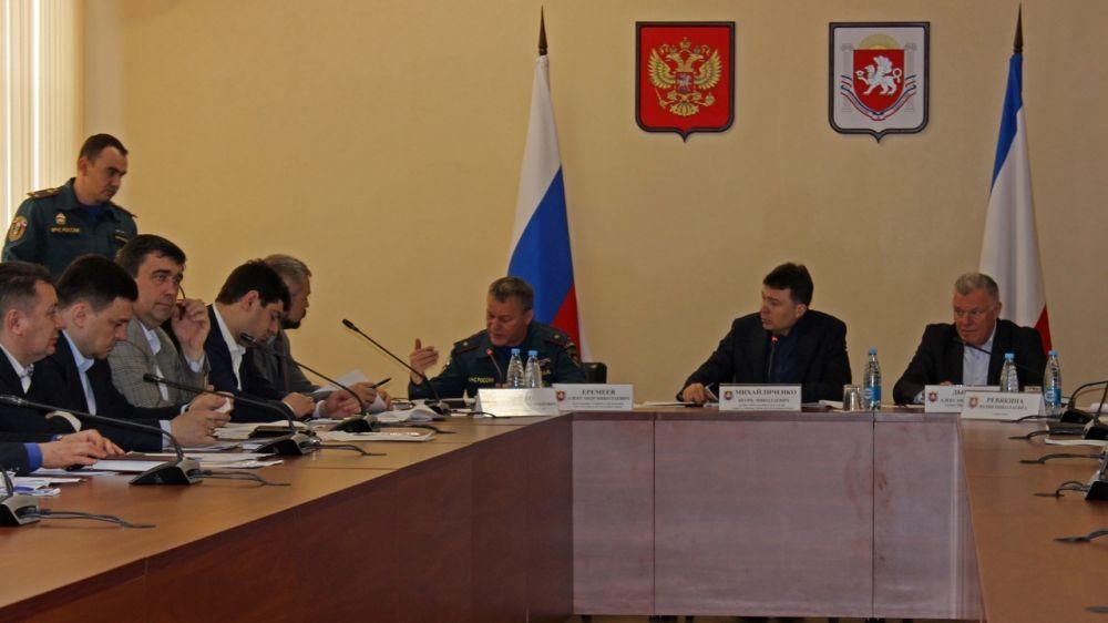 На заседании КЧС утверждены организационно-методические указания по подготовке органов управления, сил гражданской обороны Республики Крым в 2019 году