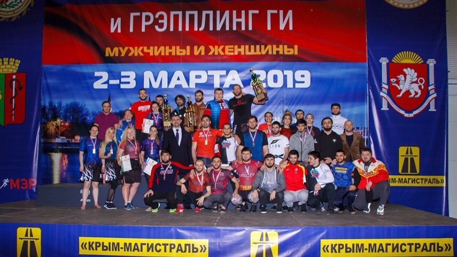 Видеосюжет о чемпионате России по грэпплингу в Евпатории