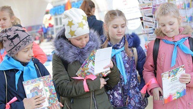 """Всероссийскую книжную ярмарку в """"Артеке"""" посетили три тысячи детей"""