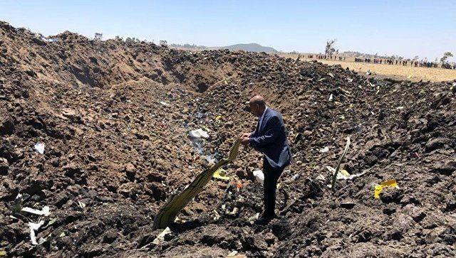 В авиакатастрофе в Эфиопии погибли трое россиян