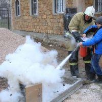 Огнетушитель дома как средство первой необходимости