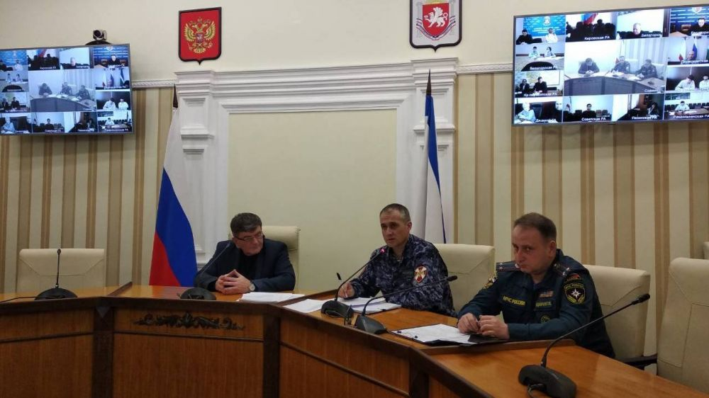 В Минпроме Крыма обсуждены вопросы выполнения требований антитеррористической защиты торговых объектов