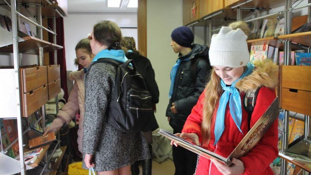 При поддержке Минкульта РК проходят выездные мероприятия для детей с использованием ресурсов Библиобуса