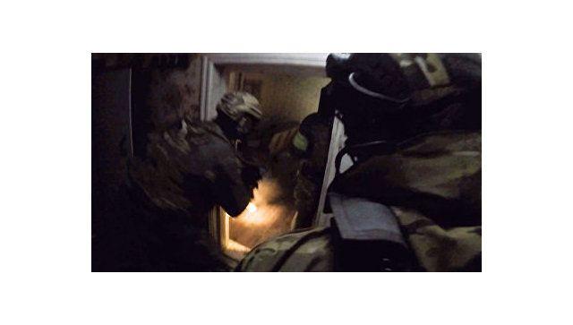НАК опубликовал видео ликвидации боевика в Самарской области