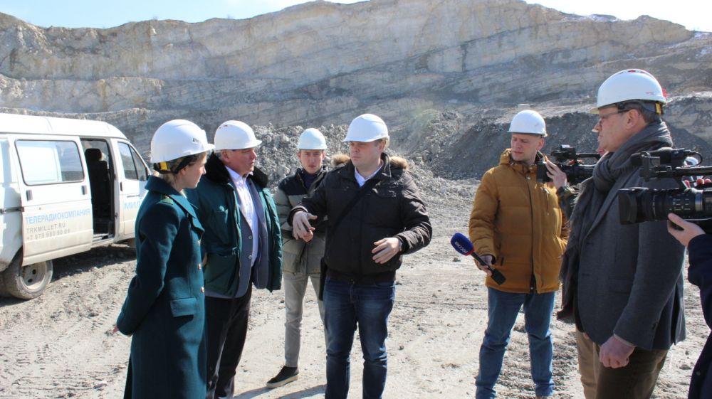 Ольга Славгородская и Алексей Яценко посетили с рабочей поездкой Белогорский район