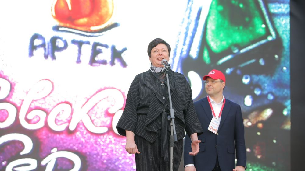 Наталья Гончарова приняла участие в первой в Крыму Всероссийской книжной ярмарке