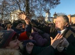 Видео нового позора президента Порошенко