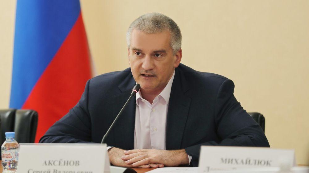 70% крымчан позитивно относятся к работе главы Республики Сергея Аксёнова, - соцопрос