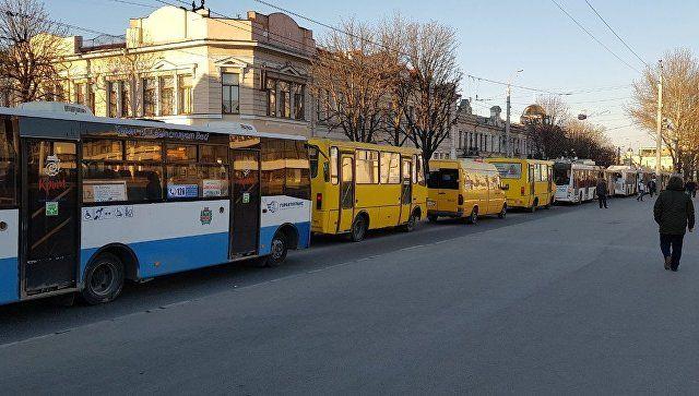 Город встал: центр Симферополя парализован из-за ДТП