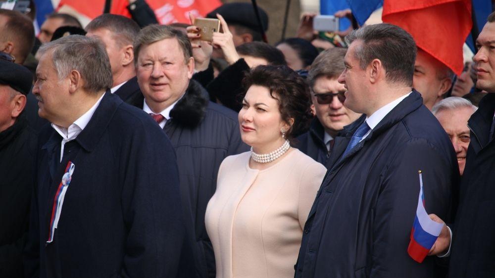 Арина Новосельская приняла участие в торжественных мероприятиях, посвященных пятой годовщине Общекрымского референдума 2014 года и воссоединения Крыма с Россией