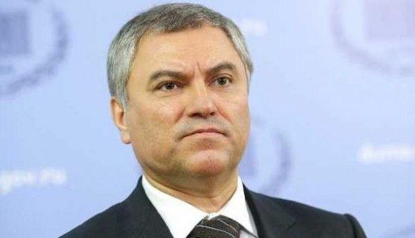 Председатель Госдумы Вячеслав Володин: Севастополь входит в число лидеров по темпам роста инвестиций