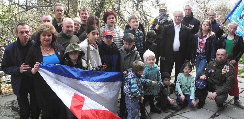 В Ялте отметили годовщину воссоединения Крыма с Россией