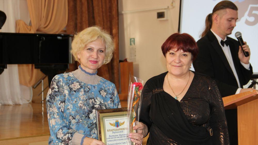 В Феодосии наградили участников Крымской весны