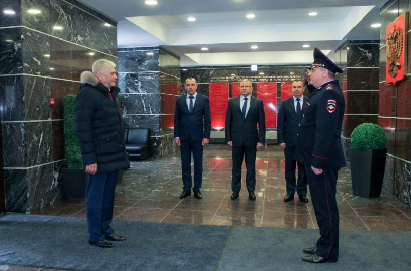 Владимир Колокольцев прибыл в Петрозаводск