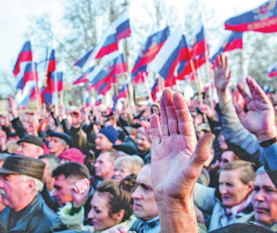 Хроника Крымской весны: 16 марта — 25 апреля
