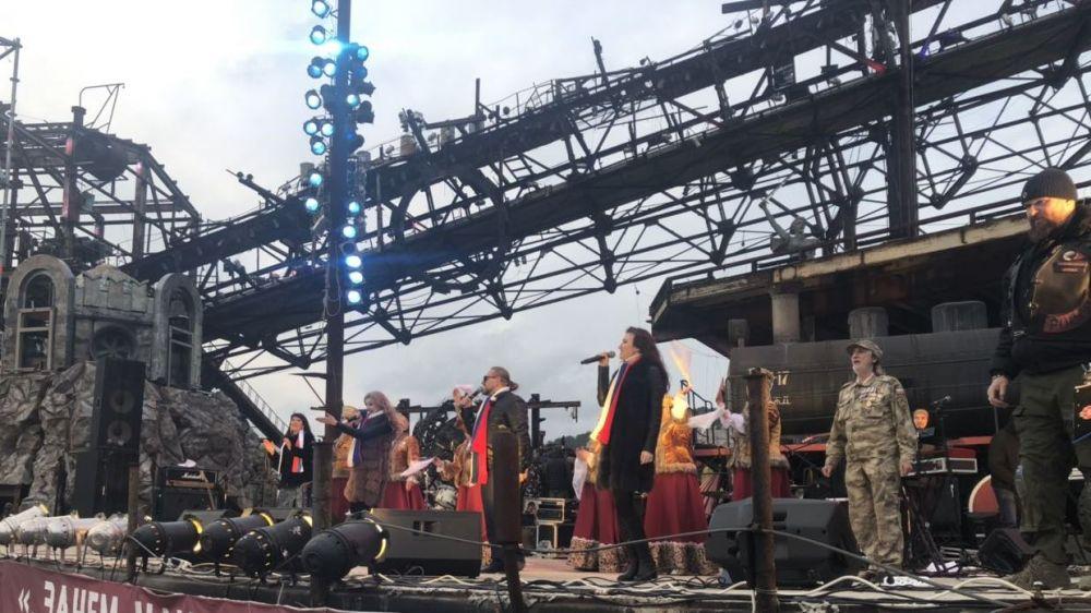 Минкульт Крыма представил концертную программу на горе Гасфорта