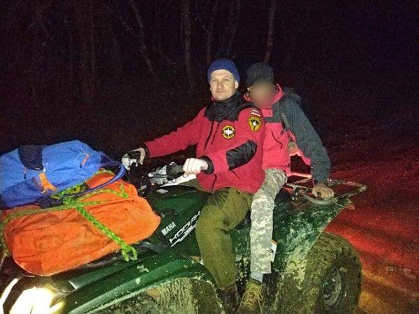 Севастополец застрял в районе водопада и травмировал ногу