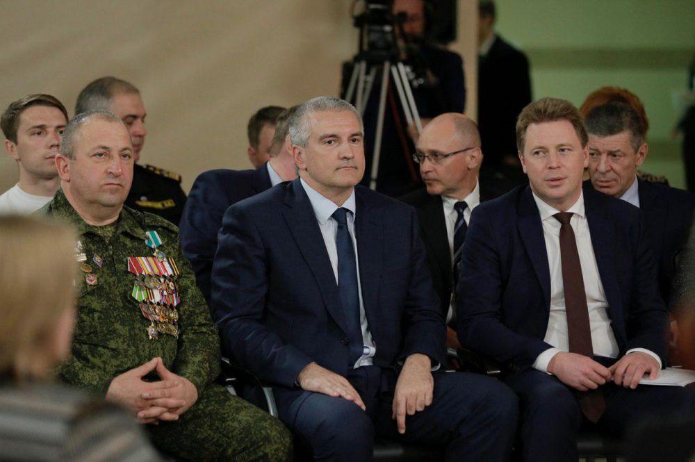 Сергей Аксёнов прокомментировал визит президента России в Крым