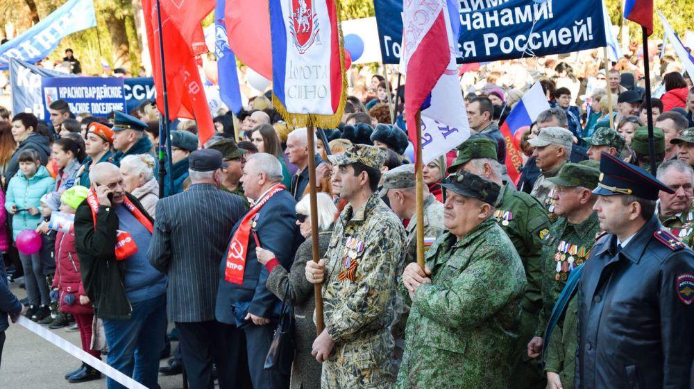 5 лет в родной гавани – красногвардейцы отмечают юбилей воссоединения Крыма с Россией