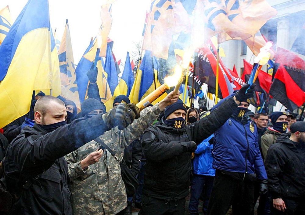 Украинские радикалы предпочли «забыть» о юбилее Крымской весны