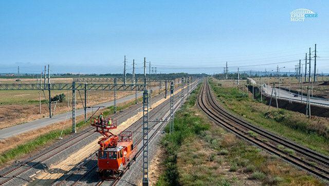 На подходах к Крымскому мосту будут работать сканеры для просвечивания вагонов